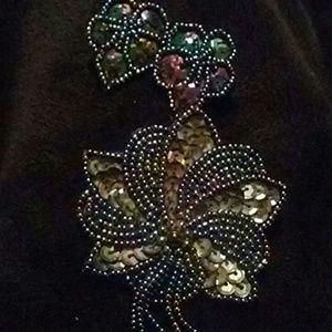 Pin and Earrings